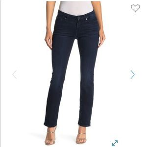 7 for all mankind kimmie straight leg dark wash